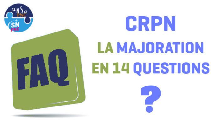 Crpn La Majoration En 14 Questions